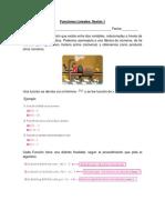 Funciones Lineales - Sesión 1