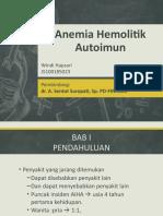 Aaaaa Anemia Hemolitik Autoimun Ppt