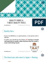 QM , MBA , 2 , 7 Basic Quality Tools
