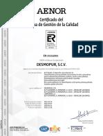 CertificadoER-1523-2001_ES_2018-09-27