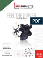 Isuzu REDTech 6W Lit Sheet