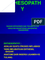 Enthesopathy Tgl 19-3-03 Dr. Dipa Yunta