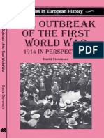 David Stevenson - The Outbreak of The First World War. 1914 in Perspective (St. Martin's Press, 1997).pdf