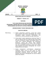 BD Perwal Nomor 71 Tahun 2013(1)