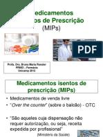 AULA Medicamentos Isentos de Prescrição