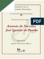 Antonio de Narváez y José ignacio de Pombo - Escrítos Económicos (Prólogo de Jorge Orlando Melo).pdf