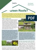 Green Roofs Fact Sheet