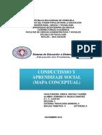 CONDUCTISMO Y APRENDIZAJE SOCIAL (MAPA CONCEPTUAL)
