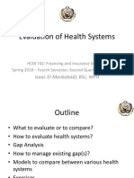2 Evaluation of Health Systems Oct 12 2018