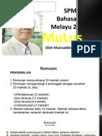5. Bahasa Melayu 2 SPM MuLus