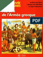 Histoire de l'Armee Grecque [La Vie Privee Des Hommes]