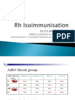 15 - Rh Isoimmunization