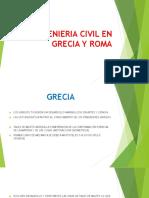 Ingenieria Civil en Grecia y Roma
