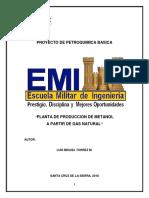 Planta de Produccion de Metanol LMT