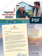 2010 Begich AFN Convention Newsletter