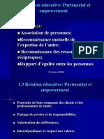 1.3 Relation Éducative_ Partenariat Et Empowerment