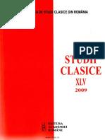 45 Revista Studii Clasice XLV 2009