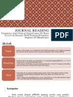 Journal reading + Telaah fix