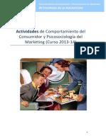 Trabajo Comportamiento Del Consumidor