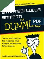 Strategi Lulus Snmptn for Dummies