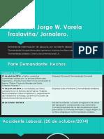 Indemnización Por Accidente Laboral.