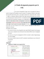 CRL Instructions Logiciels