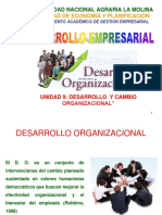 10. Desarrollo y Cambio Organizacional
