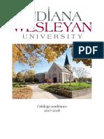 Programas Academicos IWU 2014 2015