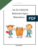 Fichas evaluacion preescolar