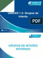 1 4 Grupos de Interes