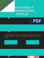 Biopatología y Consideraciones Clínicas
