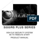 Product Galaxy Combo 5000RS Manual