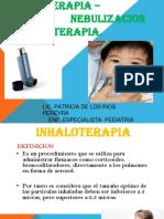 INHALOTERAPIA Y NEBULIZACIONES.pptx