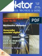 Elektor 092 (En 1988) Español