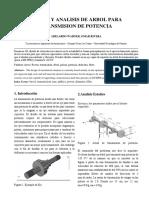 DISEÑO Y ANALISIS DE ARBOL PARA TRANSMISION DE POTENCIA.docx