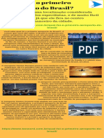 Qual foi o primeiro aeroporto do Brasil?