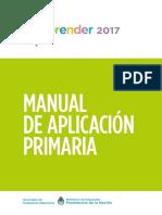 Manual de Aplicacion Primaria 2017