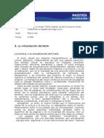 Levy Virtualizacion Del Texto