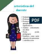 Características Del Docente