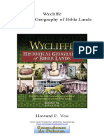 Wycliffe - Historical Geography of Bible Lands