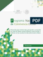 Protocolo Detec, Prev, Actu Casos Abuso Sexual Inf, Acoso Escolar Maltrato Nivel Basico (VERACRUZ)