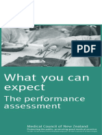 Performance Assessment What You Can Expect