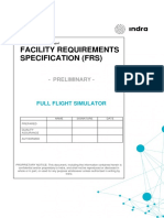 Facility Requirements Specification (FRS) - DRAFT