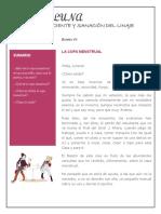 Casa de Luna - Boletin 7 - La Copa Menstrual