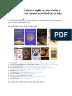 Listado de libros