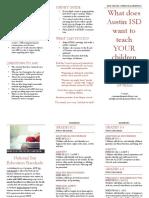 AISD Parent Meeting Brochure Nov 2018