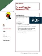 Mod 7 PPEInstructorNotes