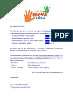 2018-11-08 Comunicació Candidatures Provisionals i Meses Electorals (Pares-mares)