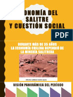 Economía Del Salitre y Cuestión Social - 1ro. Medio 2018