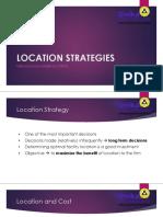 [8] Location Strategy 2018